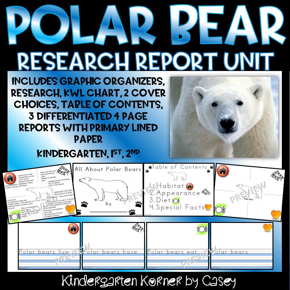 Polar Bear Research Report Unit