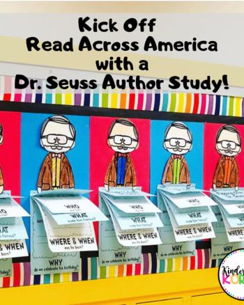 Dr. Seuss Theodor Geisel Author Study