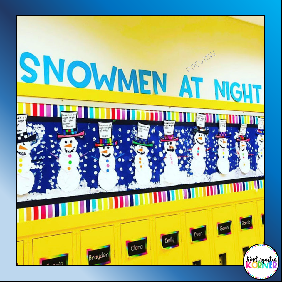 Snowmen at Night Winter Resources