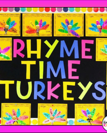 Rhyme Time Turkeys