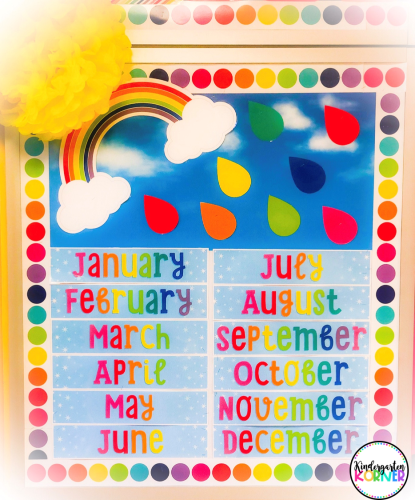Hello Sunshine Calendar