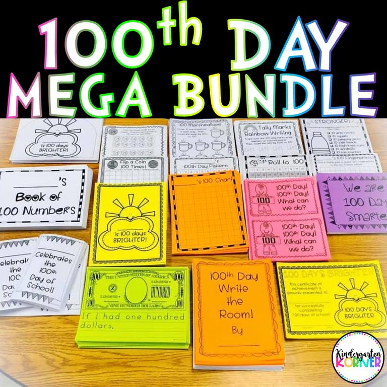 100th Day of Kindergarten Activities