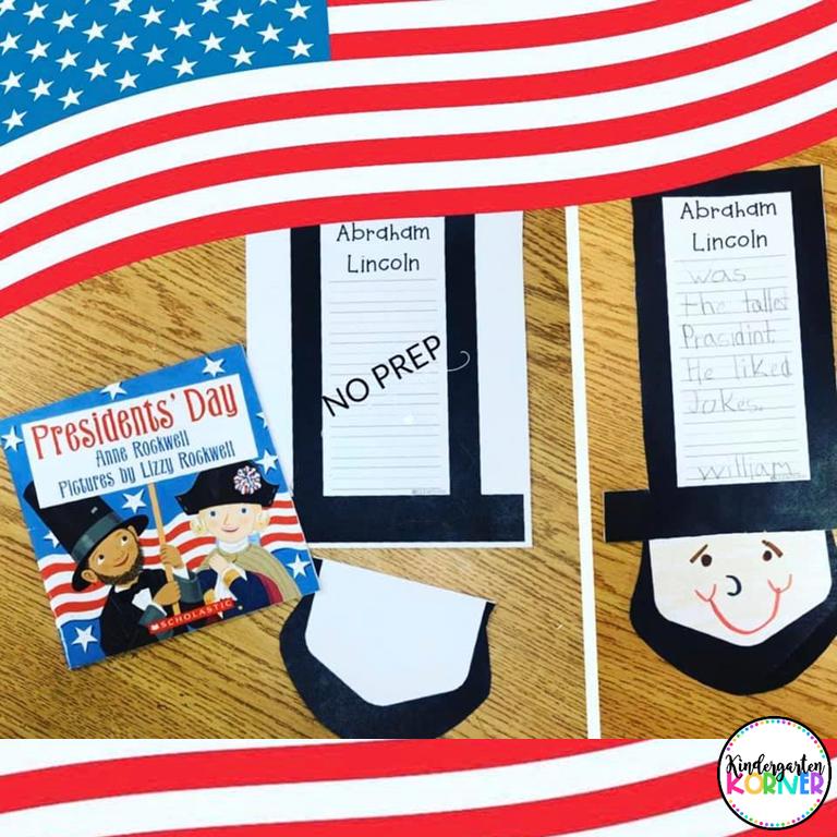 Abraham Lincoln President's Day Craft for Kindergarten