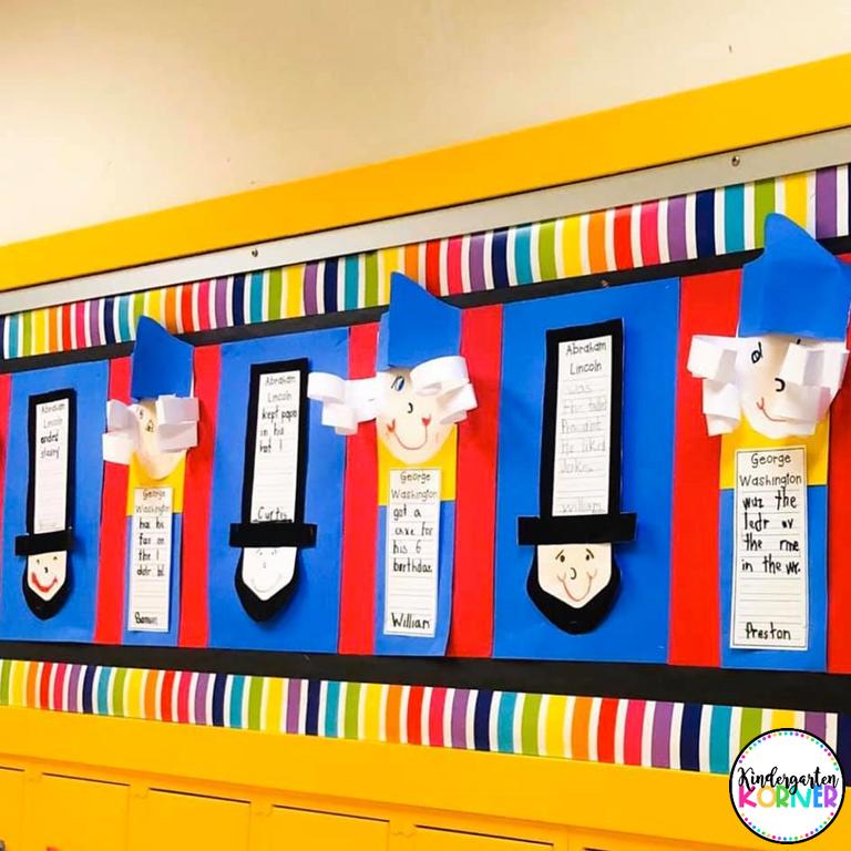 President's Day Craft for Kindergarten