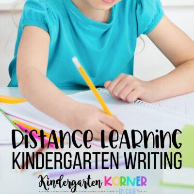 Kindergarten Distance Learning