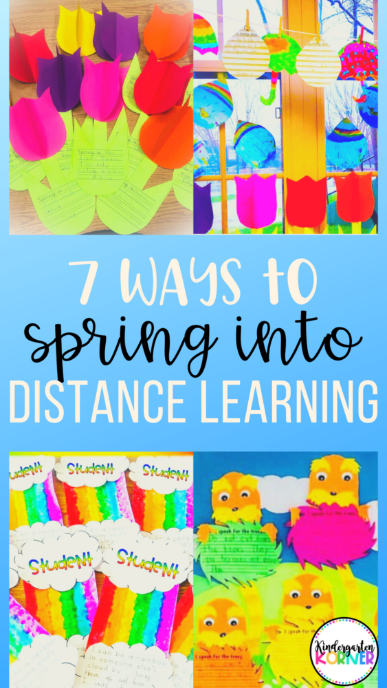 Distance Learning Spring Activities