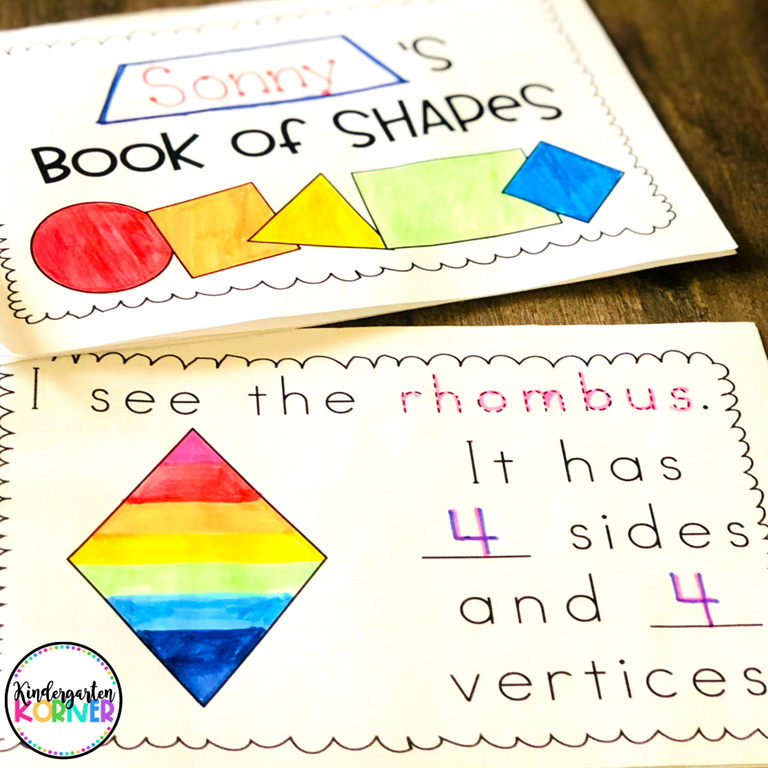 Kindergarten Math 2D Shapes