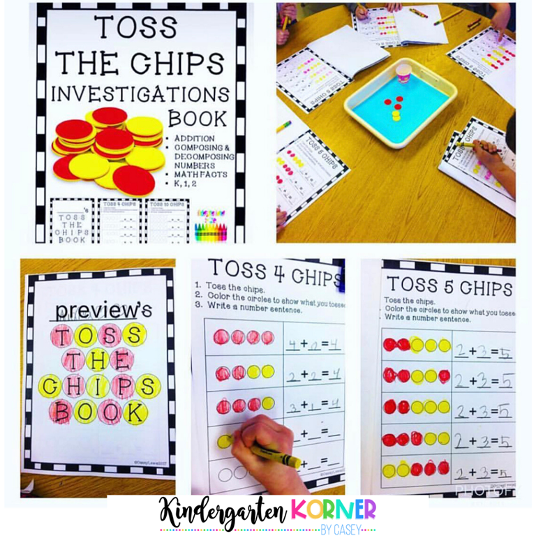 Toss the Chips Math Investigation