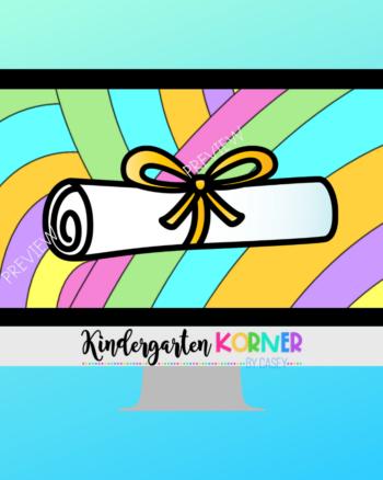 Virtual Kindergarten Graduation