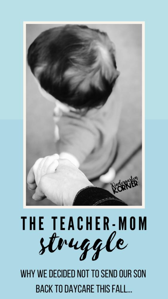 teacher mom struggle