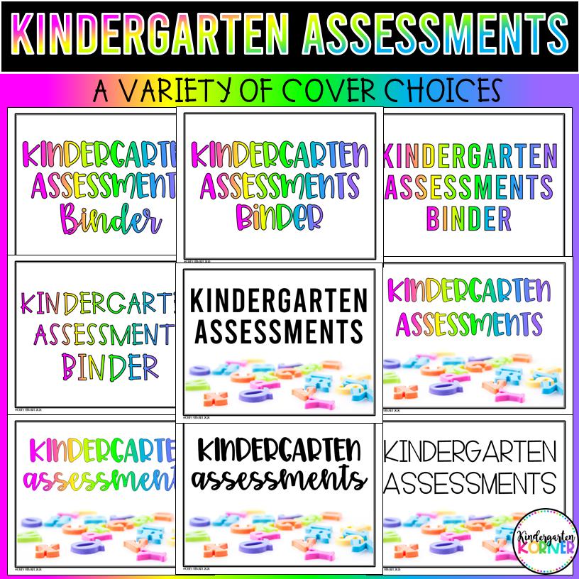 Digital Assessments for Kindergarten