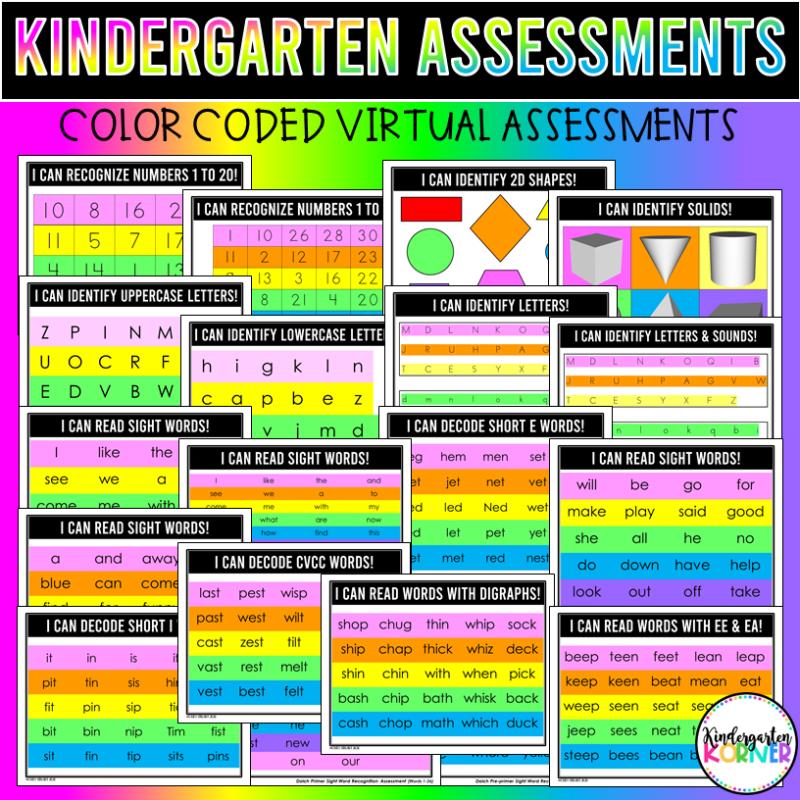Virtual Kindergarten Assessments