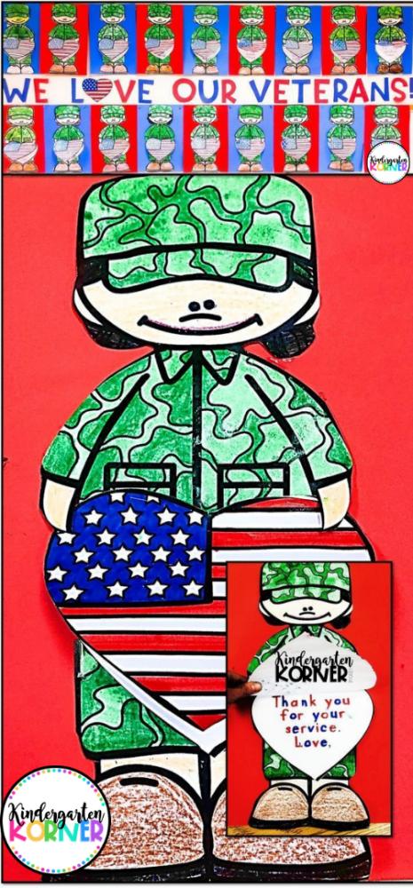 Veterans Day Soldier Craft