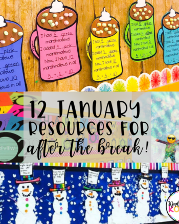 January Kindergarten Resources