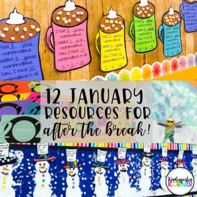 January Kindergarten Resources