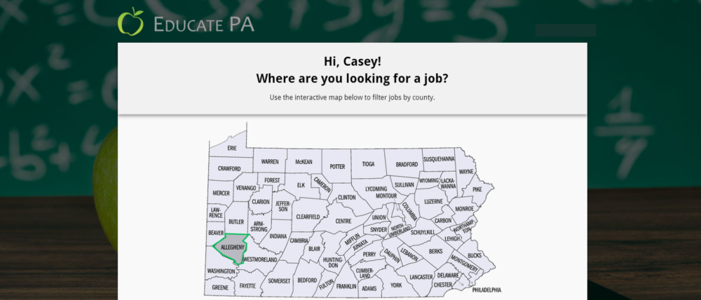 Teaching jobs in PA