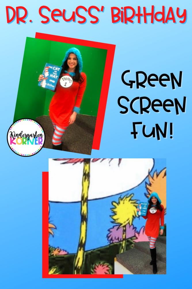 Dr. Seuss Green Screen