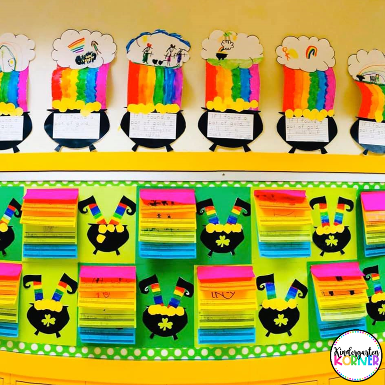 St. Patrick's Day Bulletin Boards