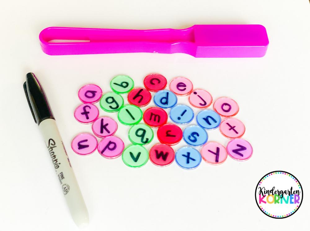 Bingo Chips Literacy Games