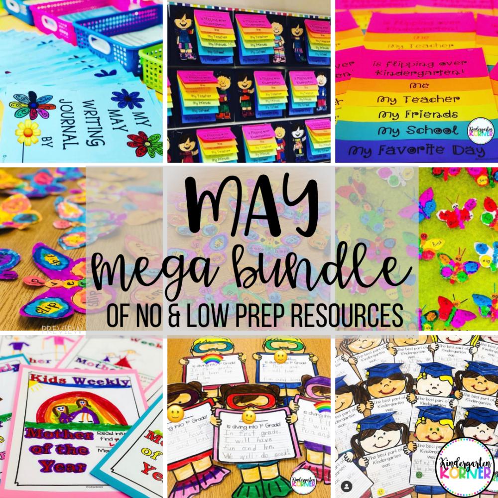 May Resources for Kindergarten