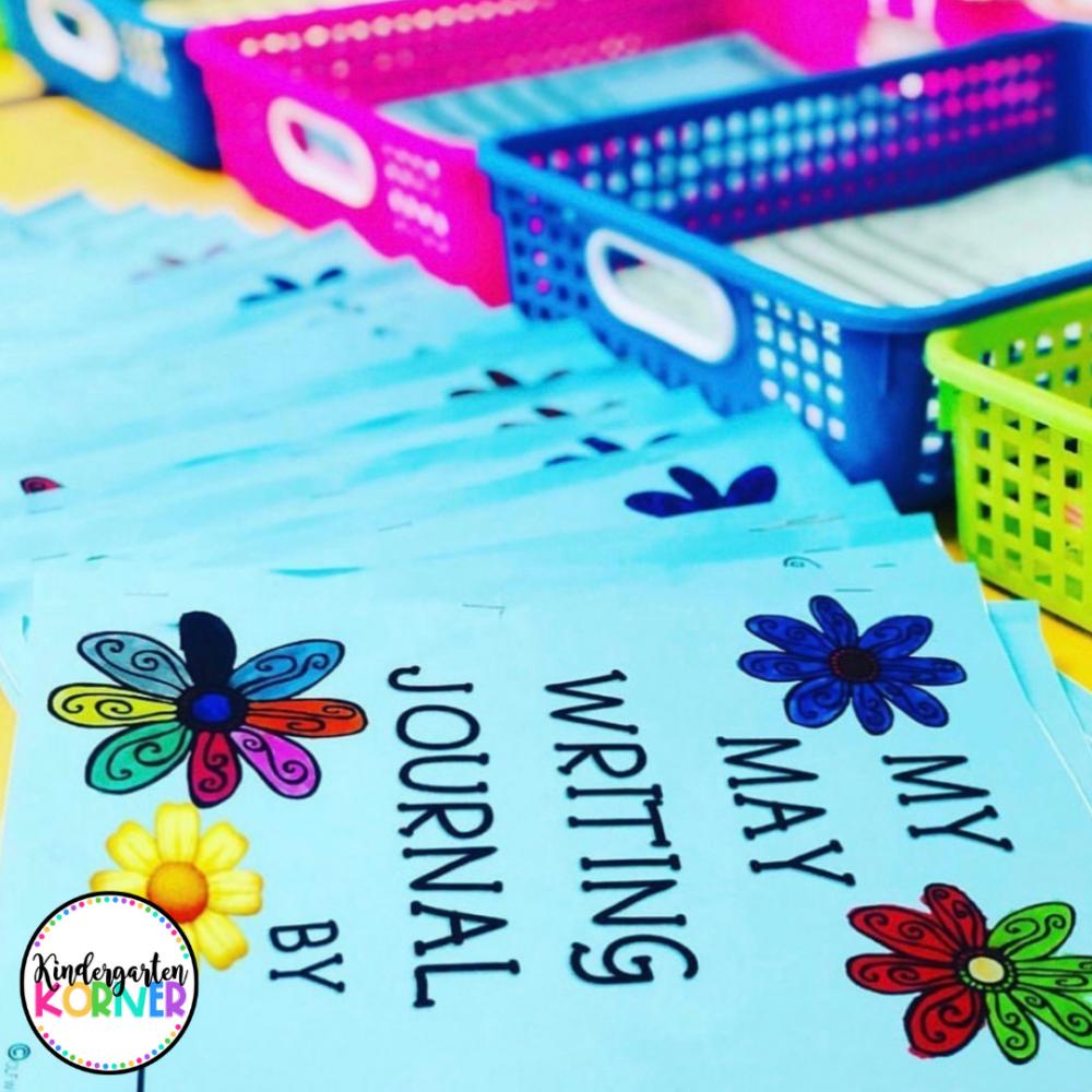 May Journals for Kindergarten