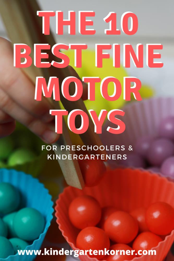 best fine motor toys