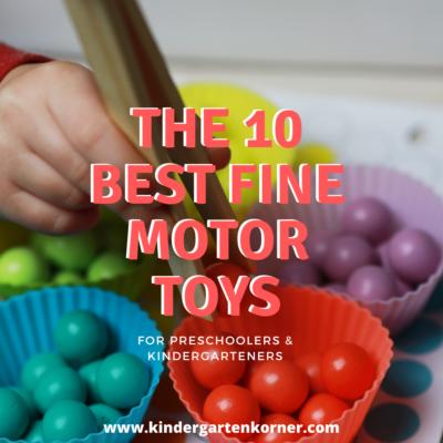 fine motor toys