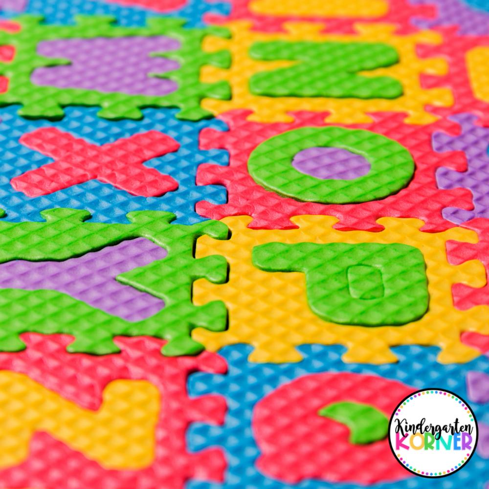 Letter Puzzle Mat