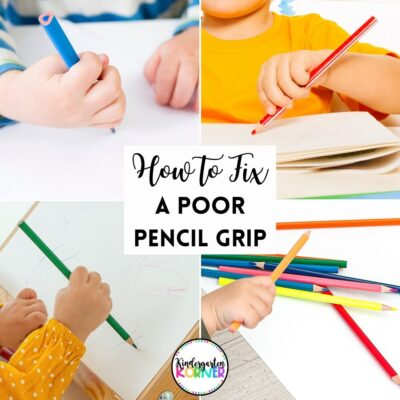 correct a poor pencil grip
