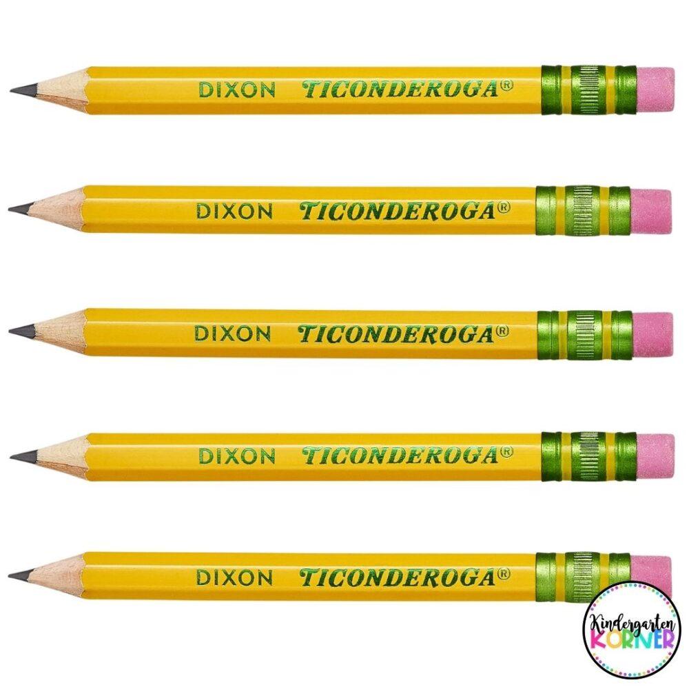 pencil grip golf pencils