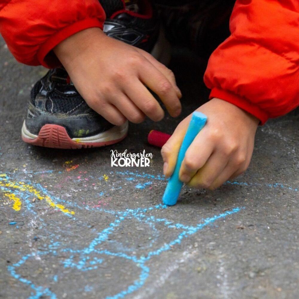 chalk fine motor