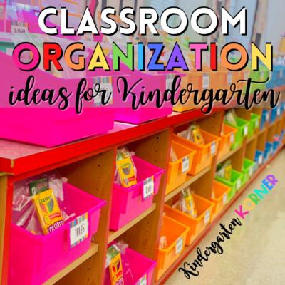 kindergarten classroom organization