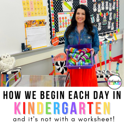 kindergarten morning bins