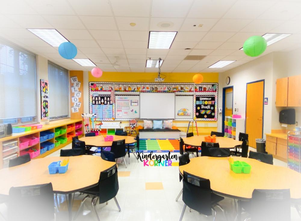 Blacks and Brights Classroom